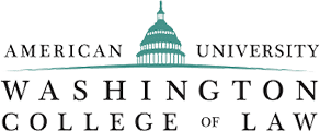 Logo Recognizing Greenspun Shapiro PC's affiliation with american university college of law